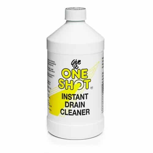 One Shot Drain Cleaner £6.00 per 1 litre bottle.