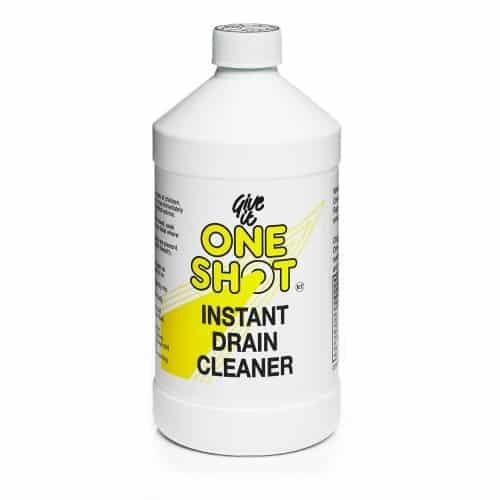 One Shot Drain Cleaner £6.00 per 1 litre bottle.